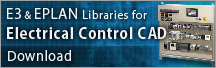 E3 & EPLAN Libraries for Electrical Control CAD